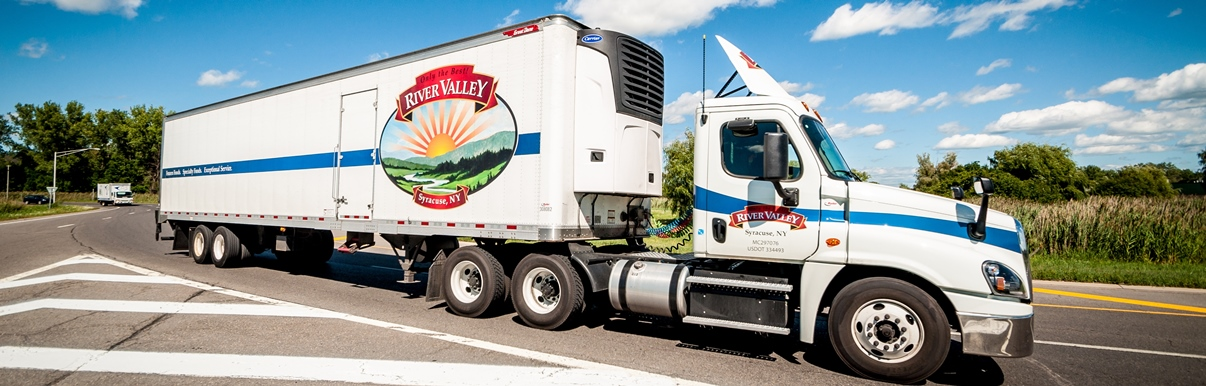 River Valley Foods excels at multi-temperature food distribution.